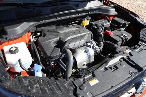 Motorraum SsangYong Korando 4WD
