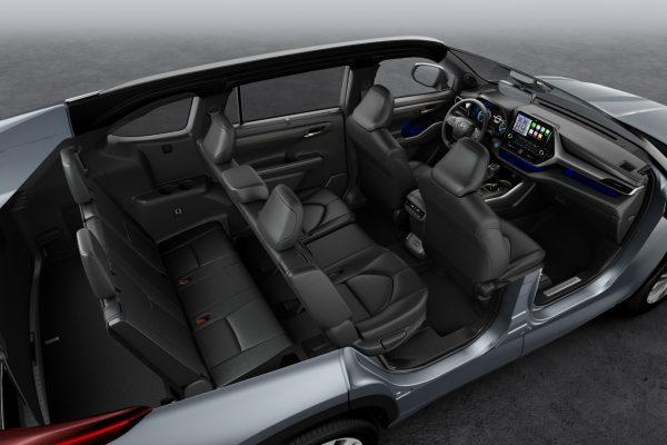 Toyota Highlander Innenraum