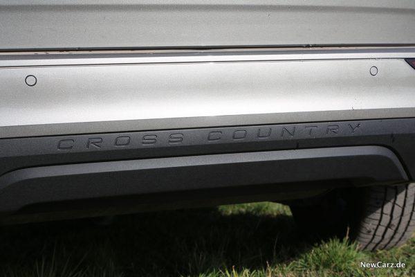 Cross Country Schriftzug