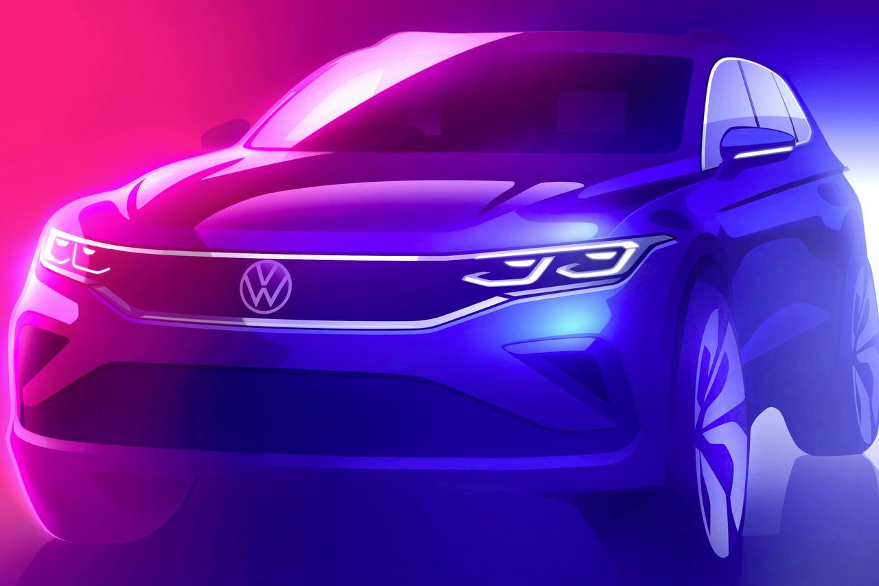VW Tiguan Update 2020