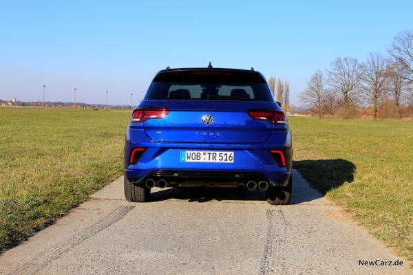 VW T-Roc R Heck