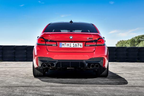 BMW M5 Facelift Heck
