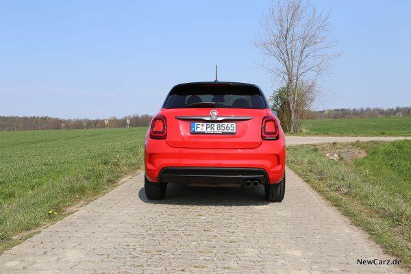 Fiat 500X Sport Heck