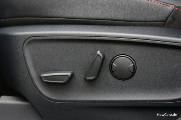 Ford Kuga PHEV elektrische Sitze