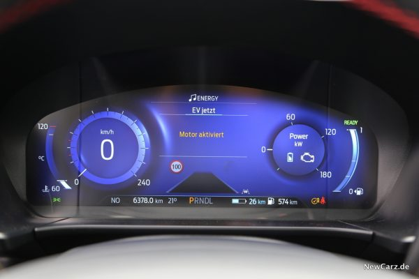 Ford Digitale Instrumententafel