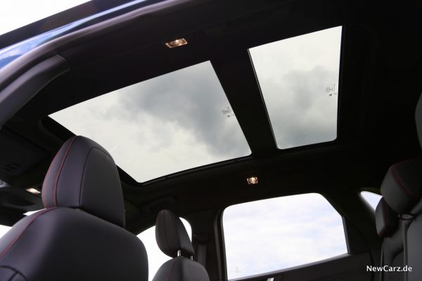 Ford Kuga PHEV Panorama Glasdach