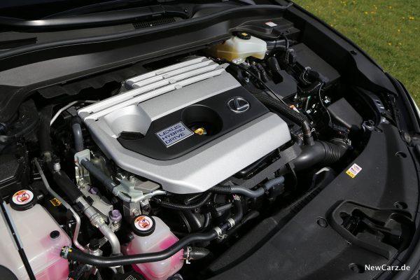 Motorraum Lexus UX