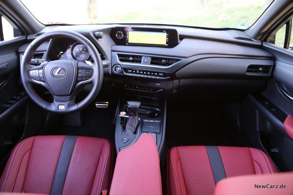Instrumententafel Lexus