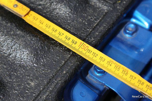 Messung Laderaum