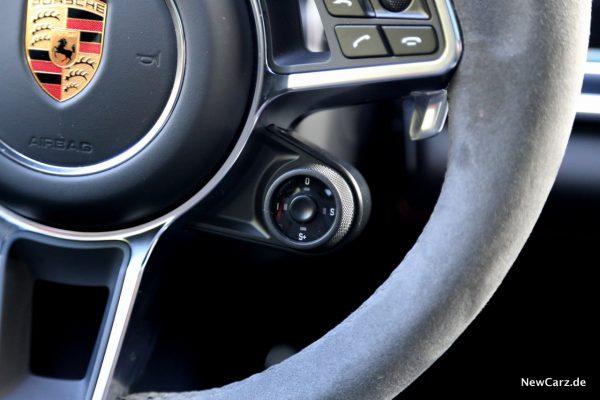Fahrmodus Schalter Porsche