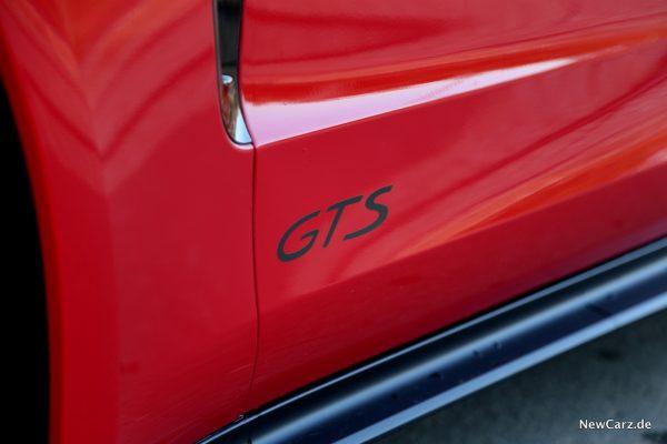 GTS Schriftzug
