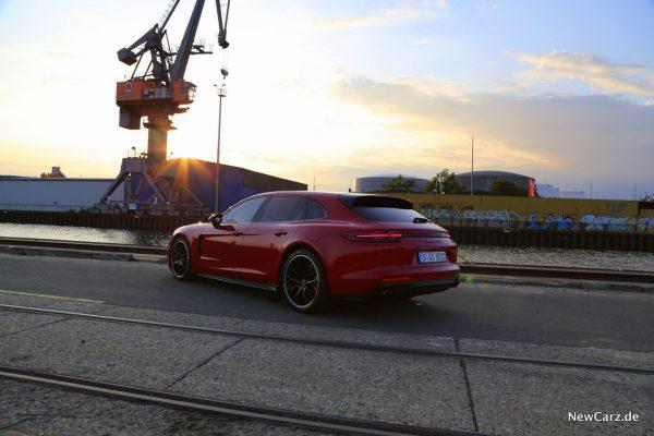 Porsche Panamera GTS Sport Turismo Heck