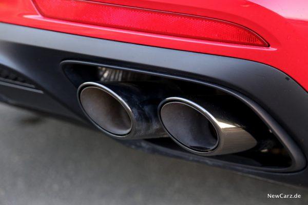 GTS Sport Abgasanlage