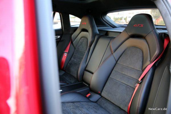 Porsche Panamera GTS Sport Turismo Rücksitze