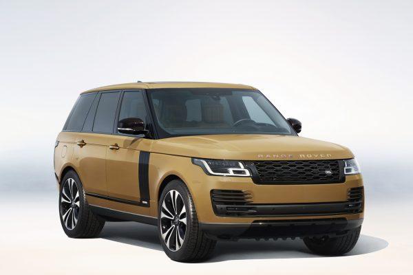 Range Rover Fifty Bahama Gold