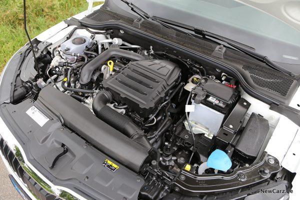 1.0 G-Tec Motorraum