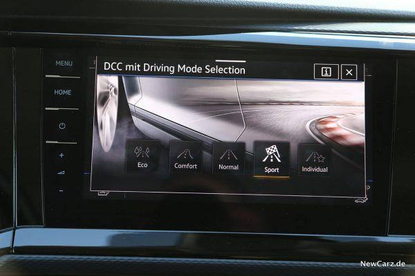 Fahrprogramme VW