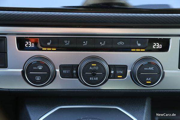 Klimaautomatik VW