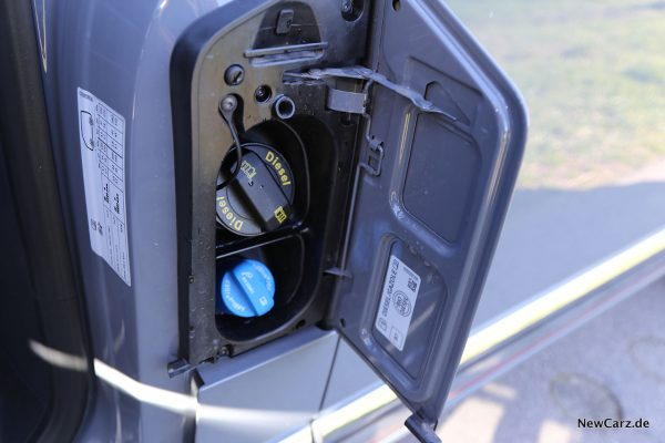Tankdeckel VW-Bus