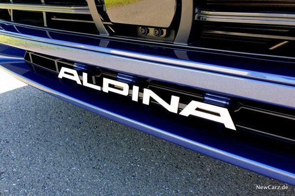 Alpina-Schriftzug
