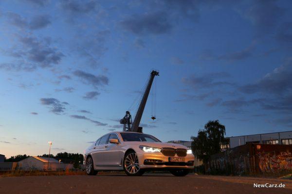 BMW 7er Hafen