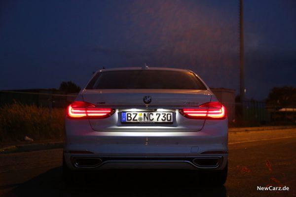 BMW G11 Lichtsignatur