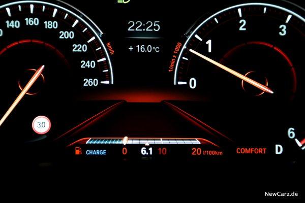 BMW 7er Verbrauch