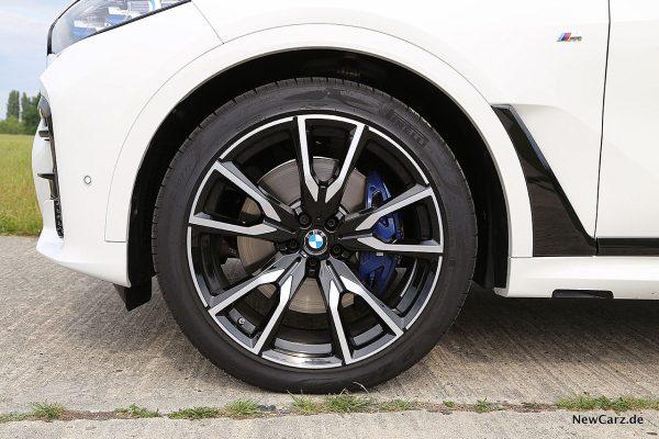 BMW X7 Vorderrad