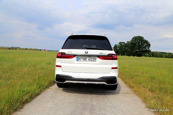 BMW X7 Heck