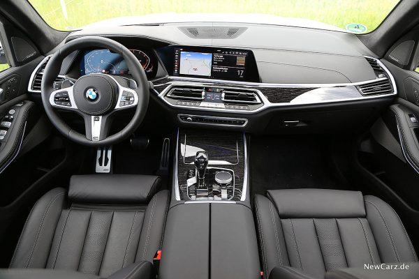 BMW X7 Armaturenbereich