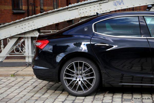 Maserati Ghibli S Q4 Heckabschluss