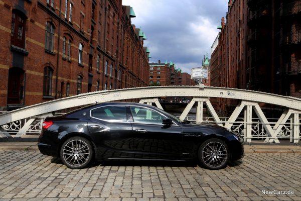 Maserati Ghibli S Q4 Seitenansicht