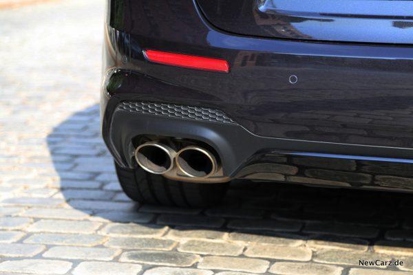 Maserati Ghibli S Q4 Endrohre