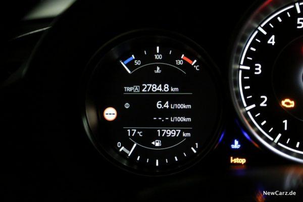 Mazda MX-5 Roadster Verbrauch