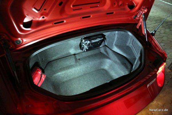 Mazda MX-5 Roadster Kofferraum