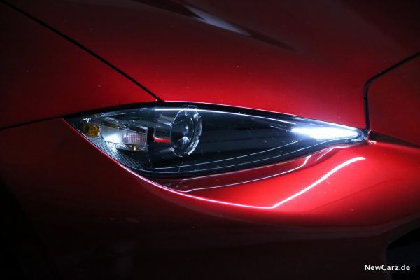 Mazda MX-5 Roadster Matrix-LED-Scheinwerfer