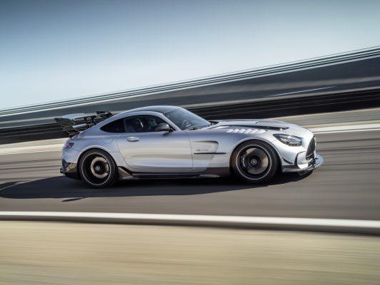 Mercedes-AMG GT Black Series Seite