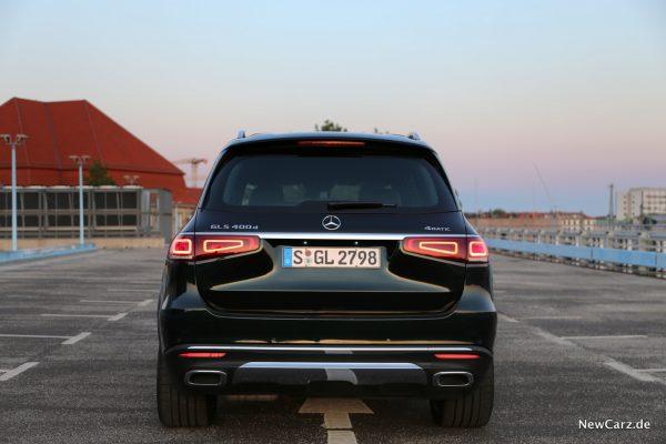 Mercedes-Benz GLS Heck