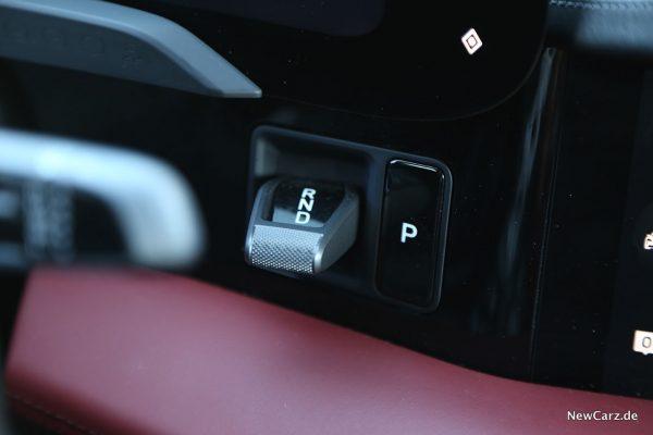 Wahlhebel Elektroauto