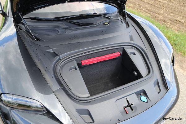 Kofferraum vorne Porsche Taycan Turbo S