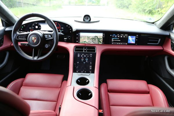 Interieur Taycan Turbo S