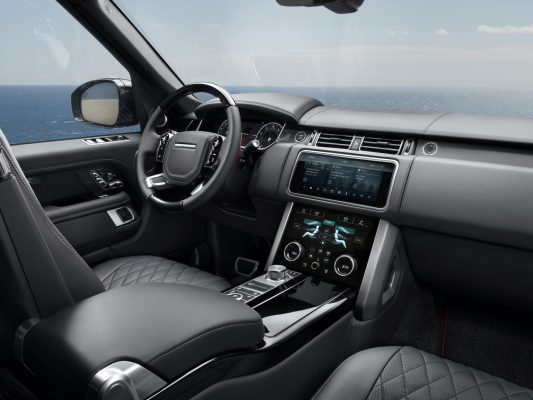 Range Rover SV Autobiography Black Stealth Interieur