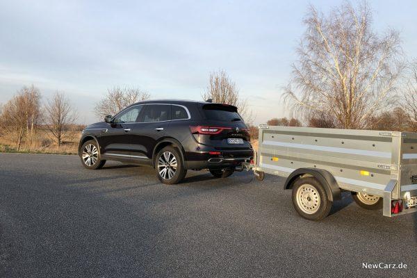 Renault Koleos Dauertest im Anhängerbetrieb