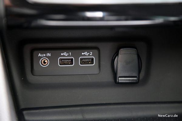 Renault Megane Grandtour E-Tech Plug-in 160 USB