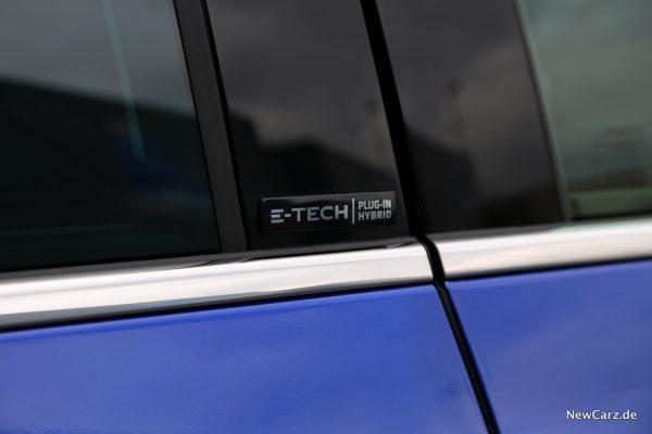Renault Megane Grandtour E-Tech Plug-in 160 Plakette