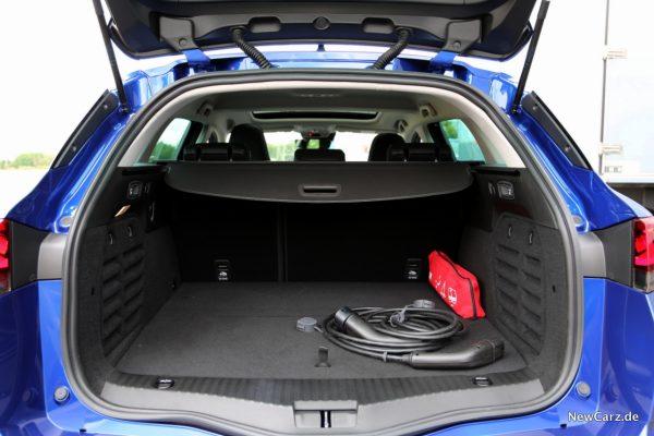 Renault Megane Grandtour E-Tech Plug-in 160 Kofferraum