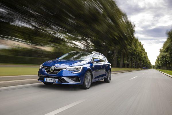 Renault Megane Grandtour E-Tech Plug-in 160 dynamisch