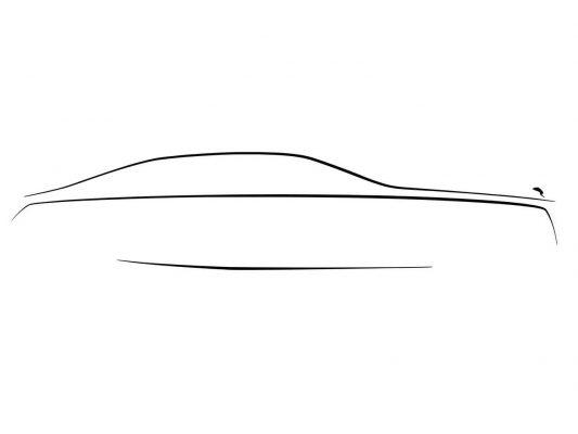 Rolls-Royce Ghost Skizze