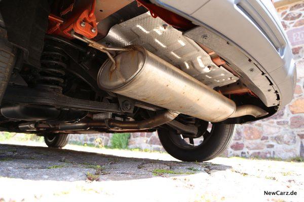 SsangYong Korando 2WD Hinterachse