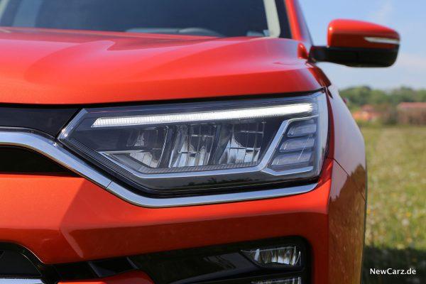 LED-Scheinwerfer Korando 2WD